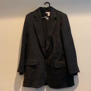 H&M Gray Blazer Jacket